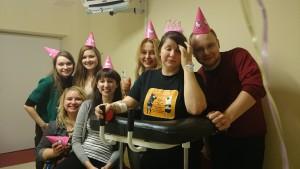 urodziny w szpitalu