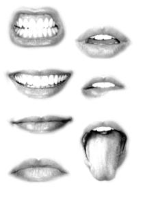 usta, cwiczenia twarzy