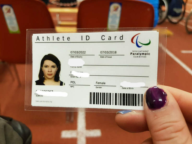 athlete sport id legitymcja
