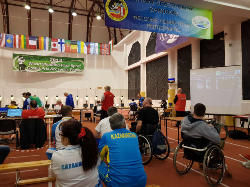 2018 World Shooting Para Sport Grand Prix in Szczecin