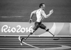 biegacz niiepełnosprawność proteza